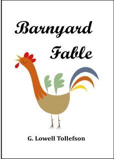 Barnyard Fable.cover.framed photo