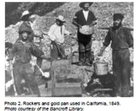 May 13 illustration.placer gold miners