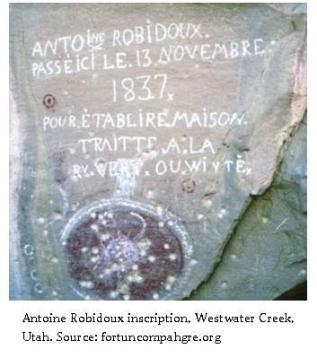 July 17 illustration.Antoine-Robidoux inscription