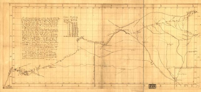 Nov. 16 illlustration.Santa Fe Trail map.1826.cropped
