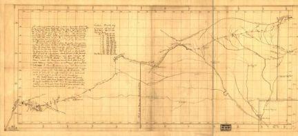 Nov. 16 illlustration.Santa Fe Trail map.1826.cropped