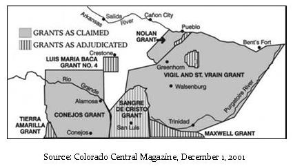 Dec 8 illustration.Colorado Land Grants